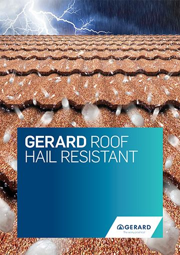 GERARD® Roof Hail Resistant