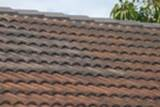 Stains or discolouration on the roof