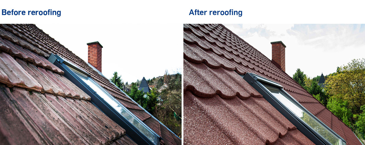 WHAT IS THE BEST ROOF FOR REROOFING AND WHY?