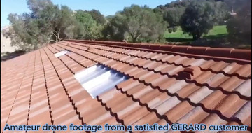 Amateur drone footage from a satisfied GERARD customer
