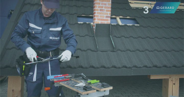 GERARD® Roofs Installation - Chimney Flashing