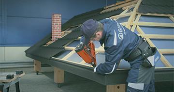 GERARD® Roofs Installation - Eaves Flashing Corner